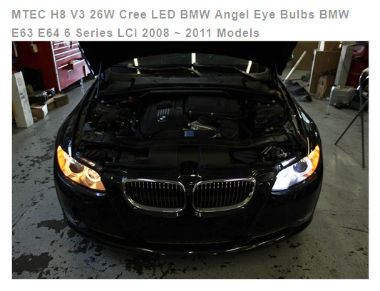 MTec LED Cree for BMW Angel Eyes / halo light rings