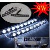 DRL Audi style, 9 x 1W SMD LED