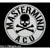"Sticker ""Mastermind ACU"", 100x100mm"