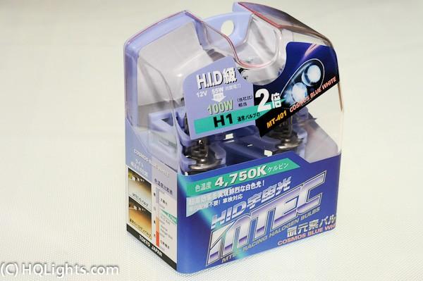 h1 mtec h1 cosmos blue white 55w 4750k hqlights biltillbeh r styling mtec billampor. Black Bedroom Furniture Sets. Home Design Ideas