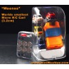 Mini Weenee - micro R/C bil, världens minsta radiostyrda bil (utan betterier)