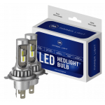H4 CSP LED, CE E9, 4000 LM 6000K CANBUS, 2 lamps
