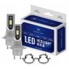 H7 CSP LED, CE E9 certifierade, 4000 LM 6000K CANBUS, 2 lampor -  för VW Pasat B5 FL