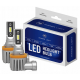 H8 / H11 CSP LED, CE E9 certifierade, 4000 LM 6000K CANBUS, 2 lampor