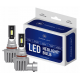 HB3 / 9006 CSP LED, CE E9 certifierade, 4000 LM 6000K CANBUS, 2 lampor