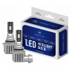 HB4 / 9006 CSP LED, CE E9 certifierade, 4000 LM 6000K CANBUS, 2 lampor