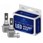 HB4 / 9006 CSP LED, CE E9, 4000 LM 6000K CANBUS, 2 lamps