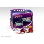 Blinkerslampor T20 / WY21W, Toshiba, kromade, orange ljus, 1 glödlampa