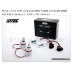 Mtec Extreme Power LED kit för BMW E60/E61 5-serie Angel Eyes, H8, 7000K, 26W (v3)