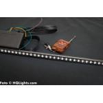 Knight Rider LED tub 50cm, 48 LED, 12V, 14 mm med fjärrkontroll, RGB färger