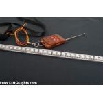 Knight Rider LED tub 50cm, 48 LED, 12V, 14 mm med fjärrkontroll