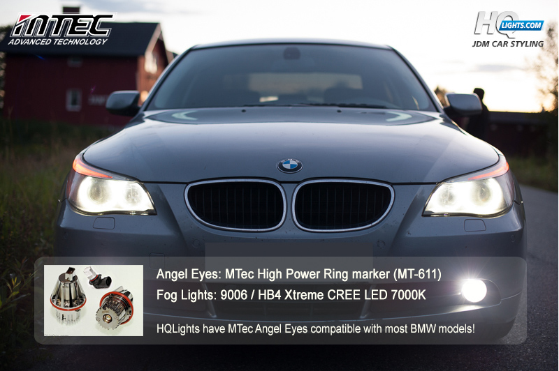 MTec LED Cree för BMW Angel Eyes / LED ringar